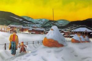 Neve sull\'altopiano